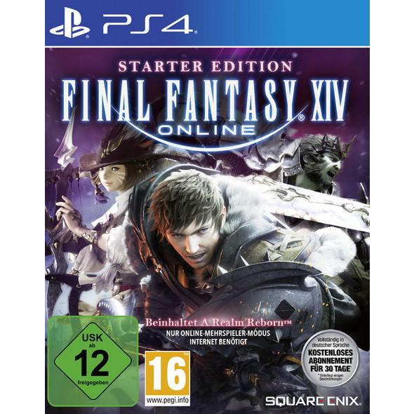 SquareEnix Final Fantasy XIV Starter Edition