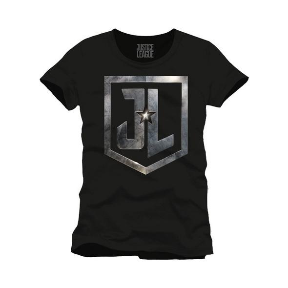 """DC Comics - T-Shirt Justice League """"JL"""" (Größe M)"""