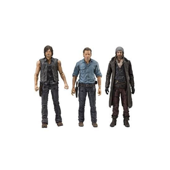 The Walking Dead - Figur 3er-Pack Allies