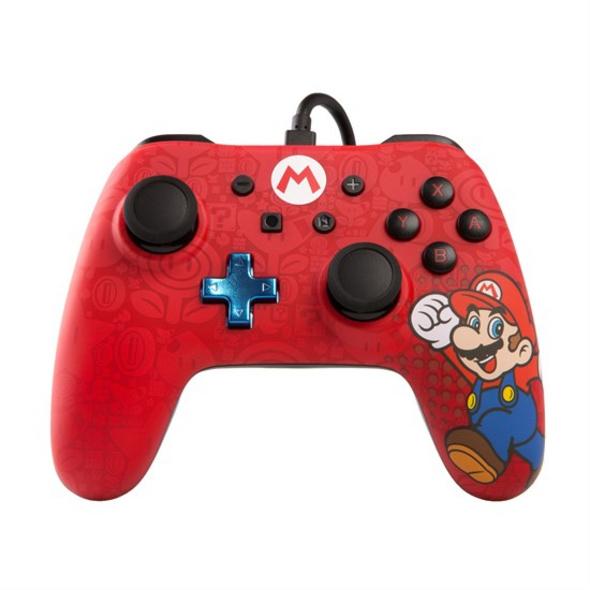 Nintendo Switch PowerA Wired Pro Controller Mario