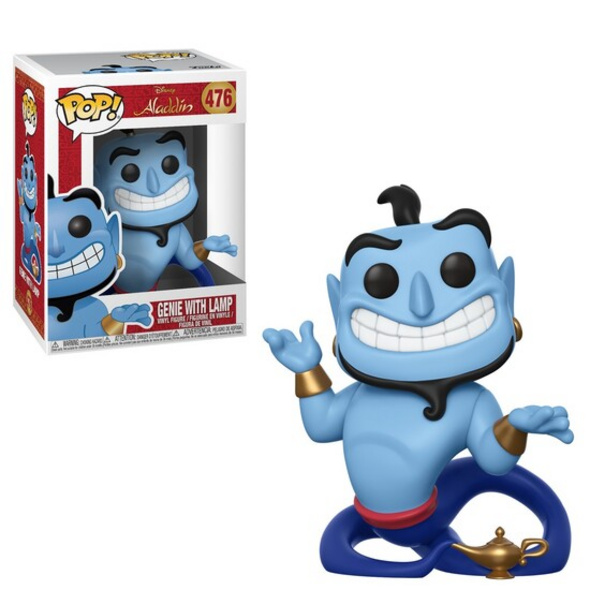Aladdin - POP! Vinyl-Figur Genie mit Wunderlampe