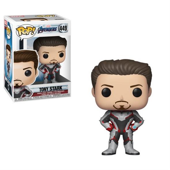 Marvel Avengers Endgame - POP!-Vinyl Figur Tony Stark