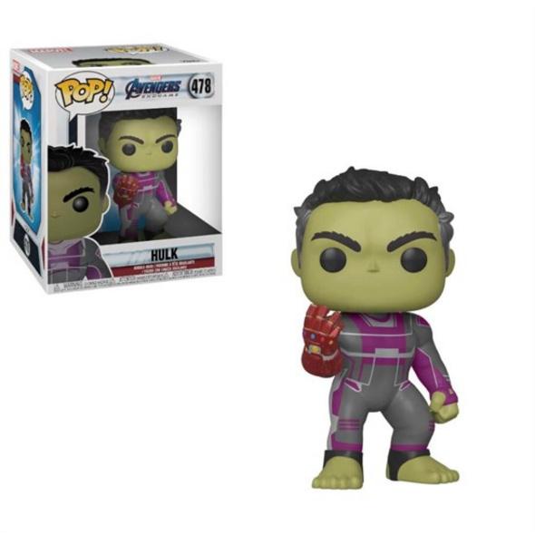Marvel Avengers Endgame - POP!-Vinyl Figur Hulk (Super Size)