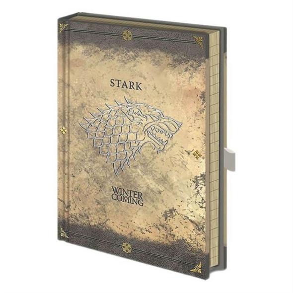Game of Thrones - Notizbuch Stark