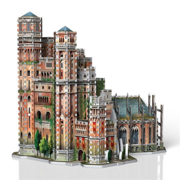Game of Thrones - Puzzle Der Rote Bergfried 3D