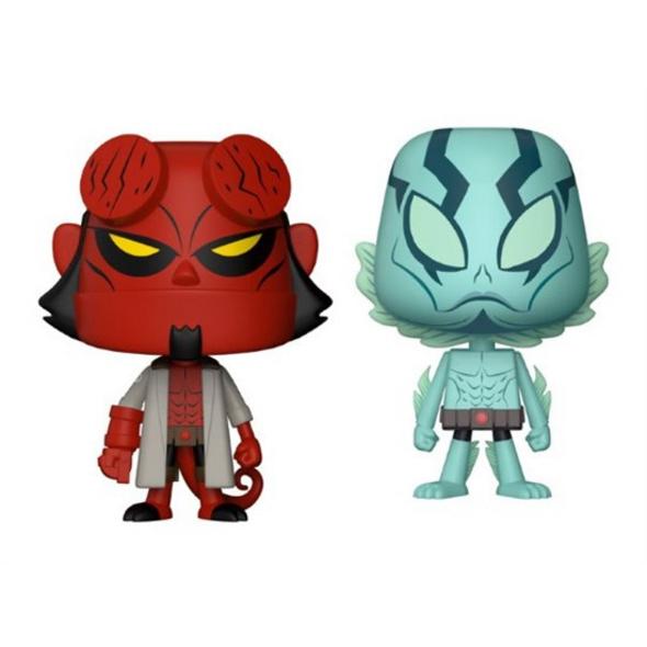 Hellboy - Vynl Figur Hellboy & Abe Sapien