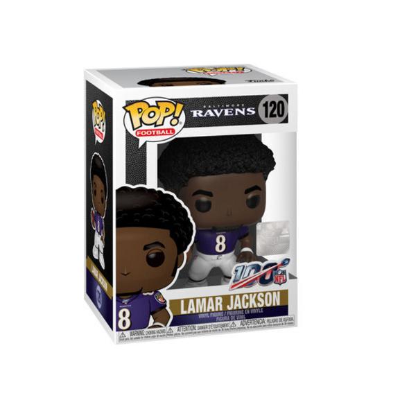 NFL - POP!-Vinyl Figur Ravens Lamar Jackson