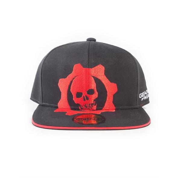 Gears Of War - Snapback Red Helmet