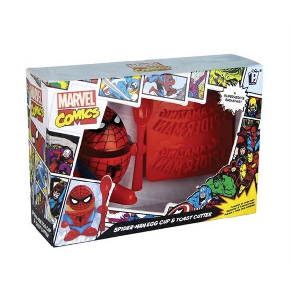 Spider-Man - Eierbecher & Toastschneider