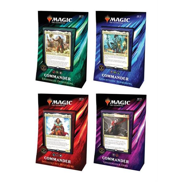 Magic the Gathering: Commander 2019 Deck - Deutsch (Zufällige Auswahl)