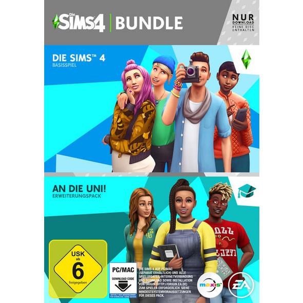 Die Sims 4 + Die Sims 4 - An die Uni Erweiterungspack