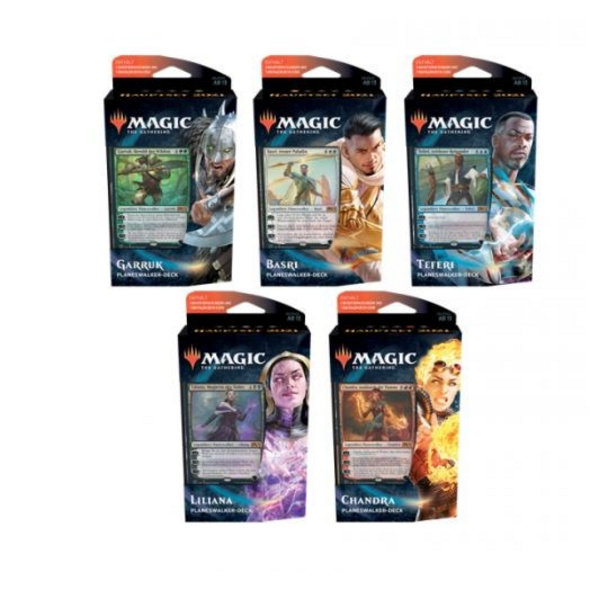 Magic the Gathering: Hauptset 2021 Planeswalker Decks deutsch (zufällige Auswahl)