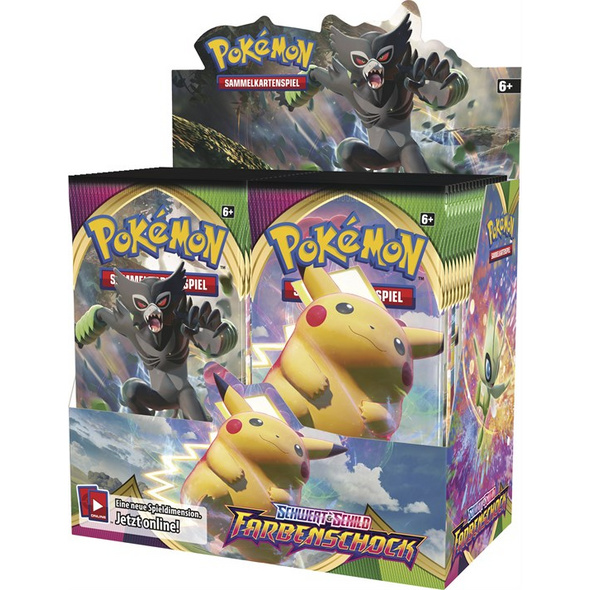 Pokémon Sammelkartenspiel: Schwert & Schild 04.5 Booster-Pack (zufällige Auswahl)