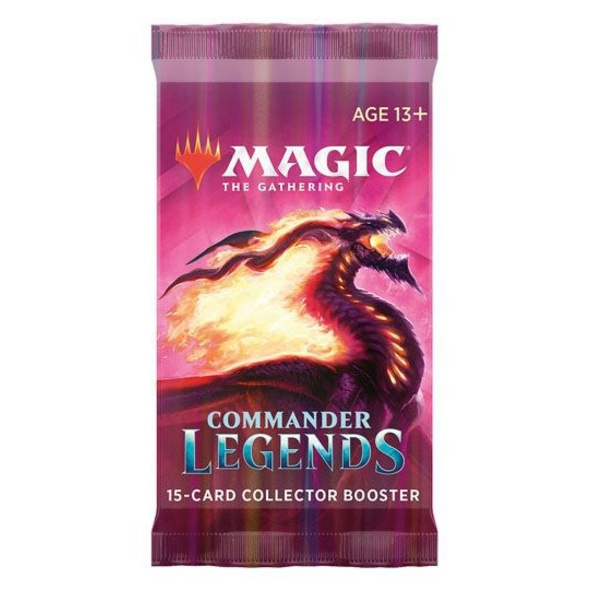 Magic the Gathering: Commander Legenden Sammler-Booster Pack