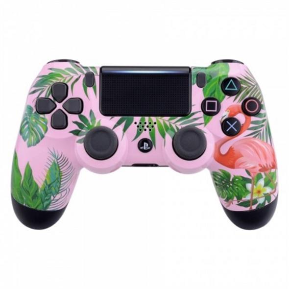 PS4 Dualshock Rebuilt Controller Flamingo (Glossy)
