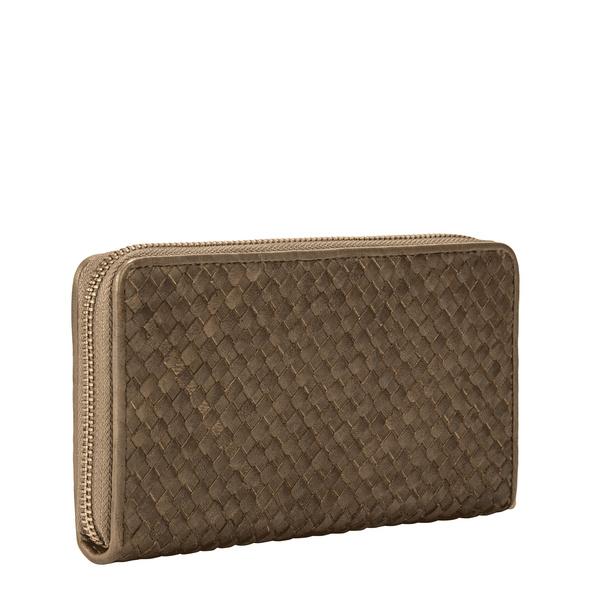 Geldbörse aus geflochtenem Leder - Santa Fe Gigi