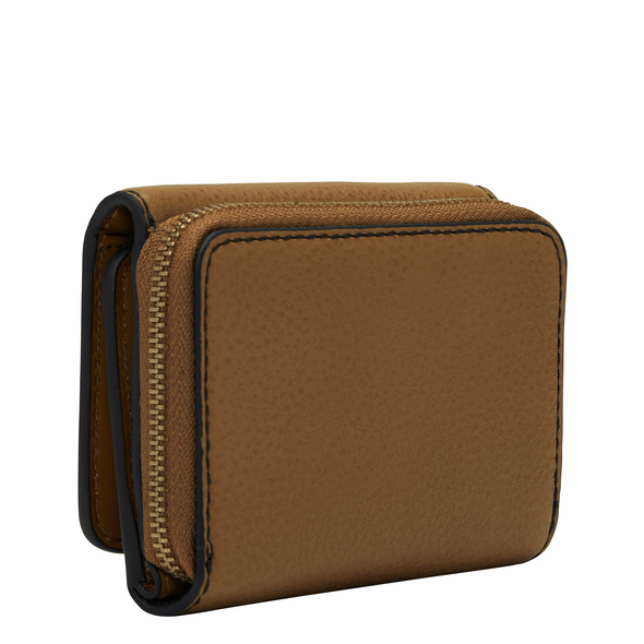 Geldbörse aus Leder - Gray Pablita