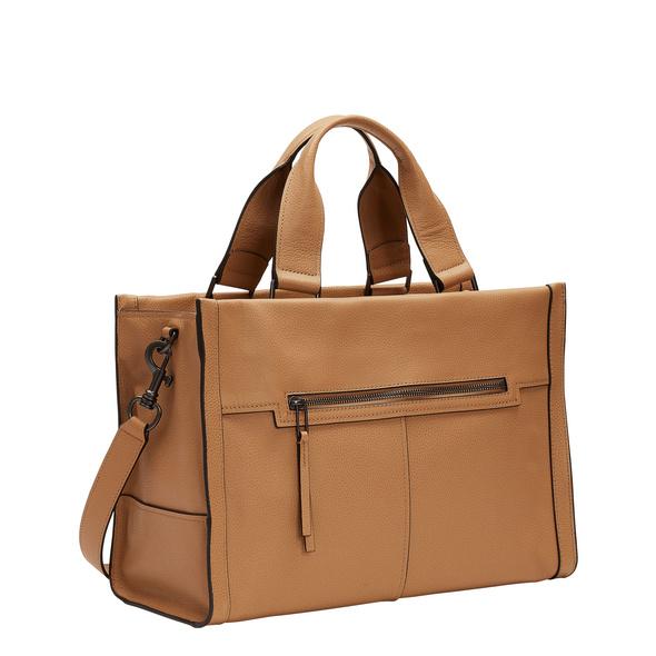 Satchel Tasche mit Karabinerverschluss - Georgia Satchel L