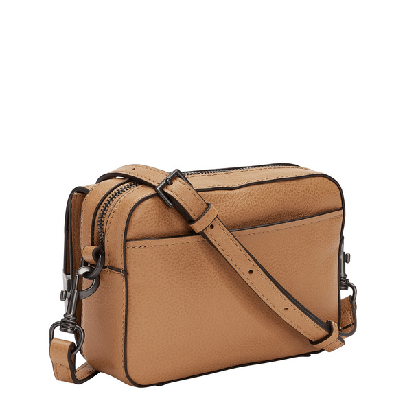 Tasche zum Umhängen mit dezenter Zweifarbenveredelung - Georgia Crossbody S