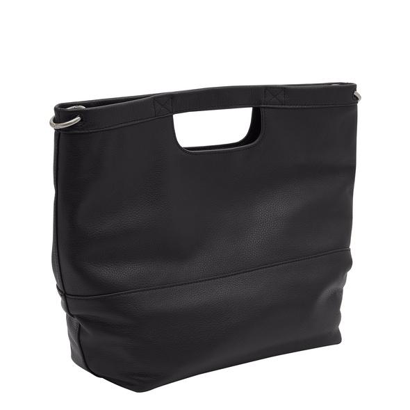 Minimalistische Handtasche aus Leder - Lynn Satchel M