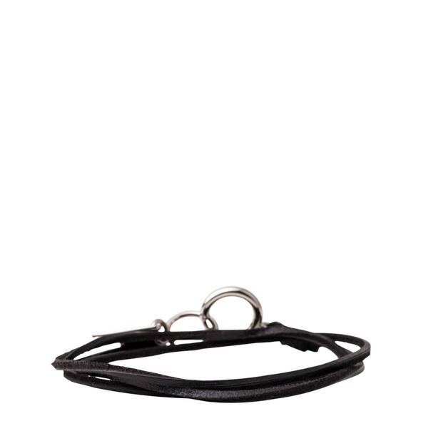 Wickelarmband mit rundem Karabiner - Armband