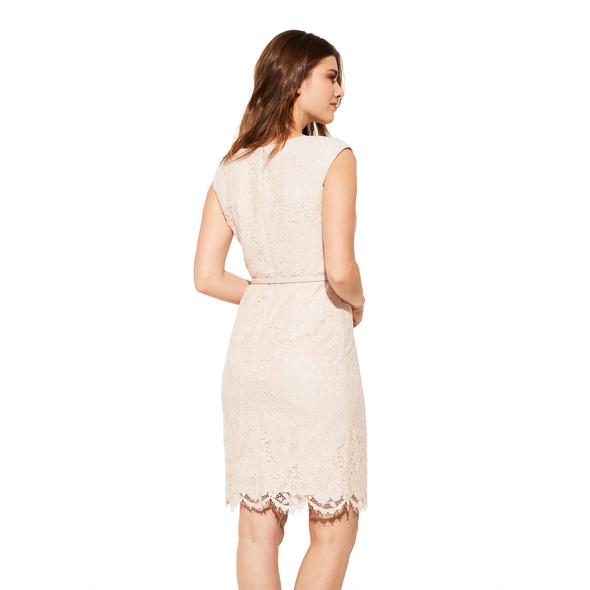 Etuikleid mit Spitze - Kleid