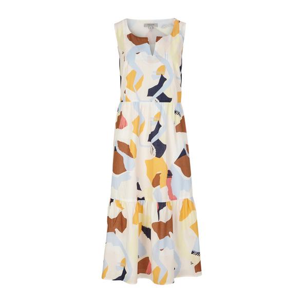 Kleid mit Allover-Print - Baumwollkleid