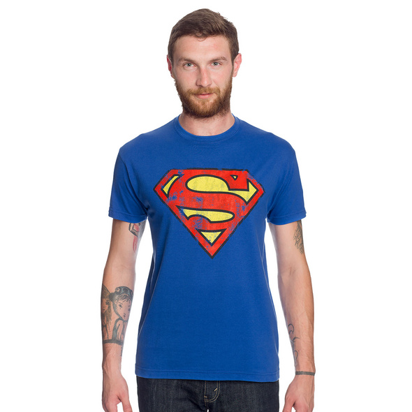 Superman - Retro Logo Shirt