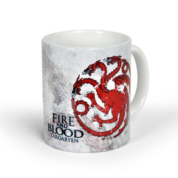 Game of Thrones - House Targaryen Tasse