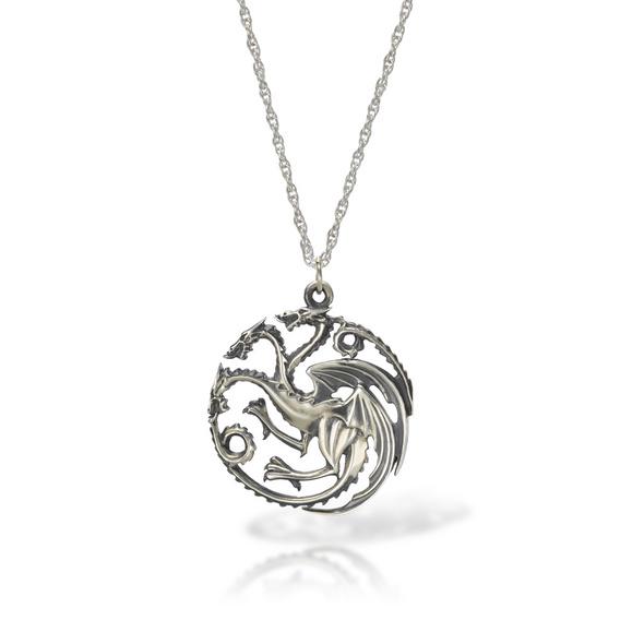Game of Thrones - Targaryen Wappen Kette