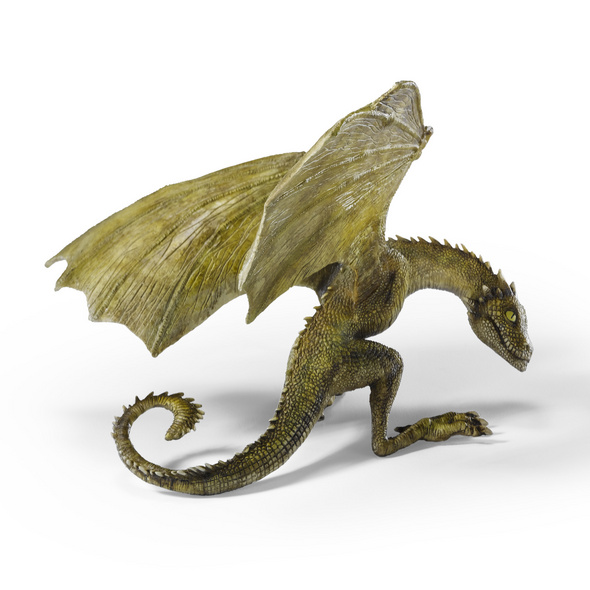 Game of Thrones - Rhaegal Drachen-Baby Skulptur