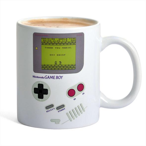 Nintendo - Game Boy Thermoeffekt Tasse