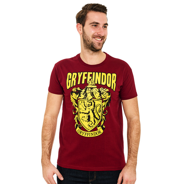 Harry Potter - Gryffindor Wappen T-Shirt rot