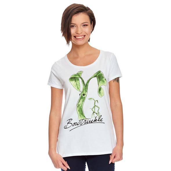 Bowtruckle T-Shirt Damen weiß - Phantastische Tierwesen