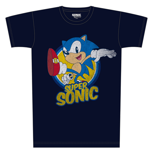 Sonic the Hedgehog - Super Sonic T-Shirt blau