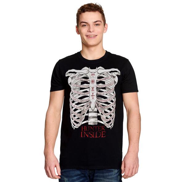 Supernatural - Hunter Inside T-Shirt schwarz
