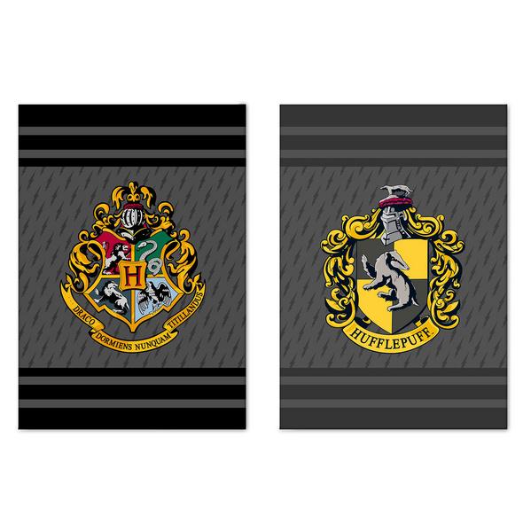 Harry Potter - Hufflepuff & Hogwarts Geschirrtücher Set