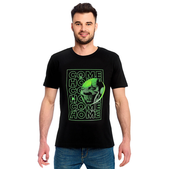 Stephen Kings ES - Come Home Glow in the Dark T-Shirt schwarz