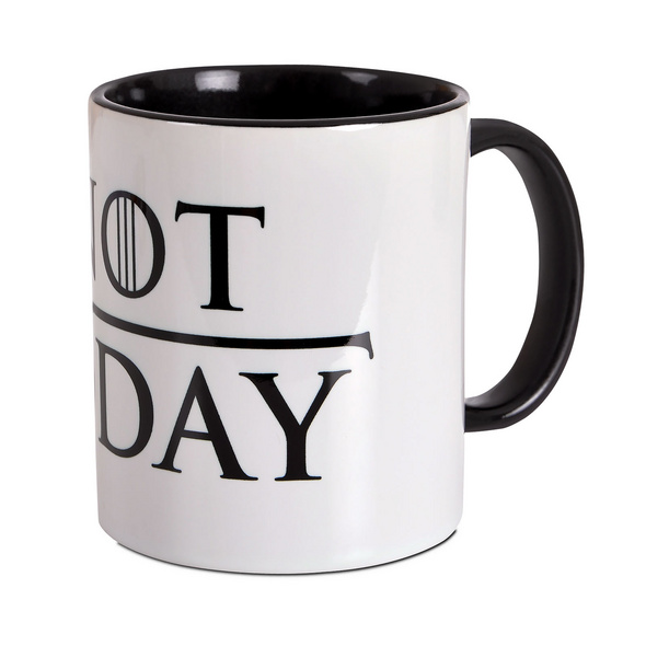 Not Today Tasse für Game of Thrones Fans