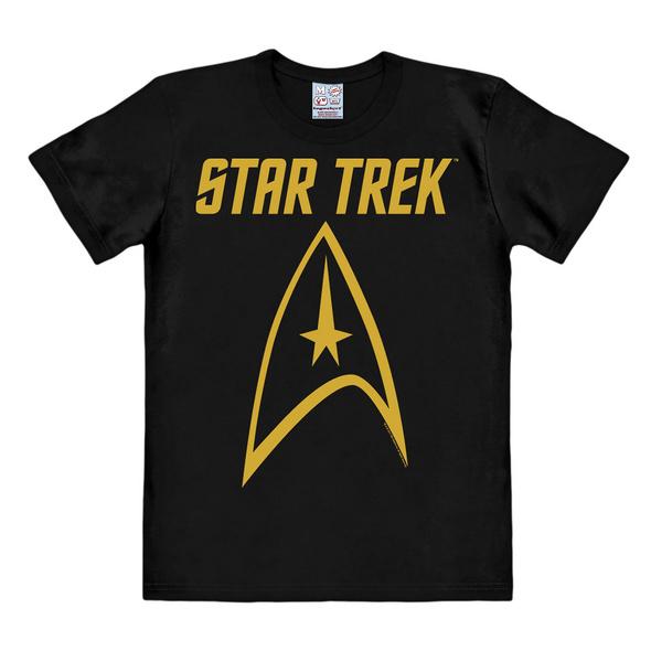 Star Trek - Logo T-Shirt schwarz