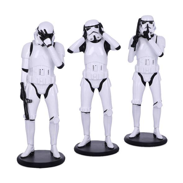 Original Stormtrooper Dont See Hear Speak Figurenset