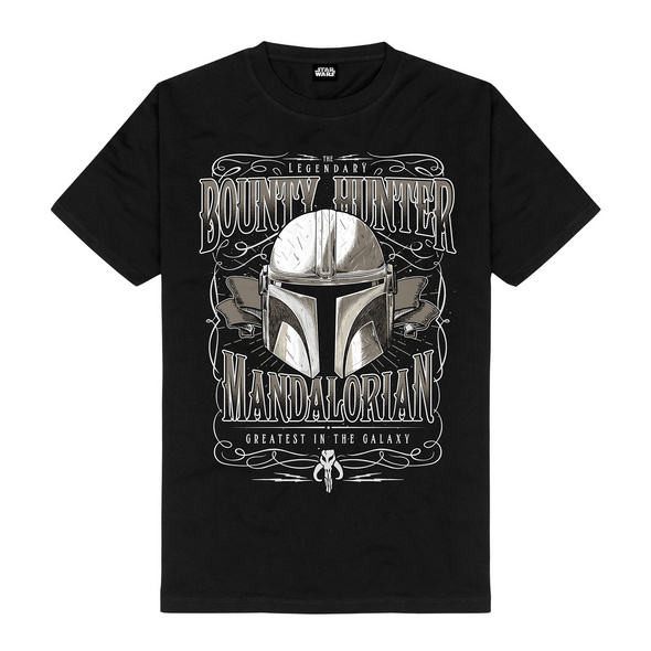 Greatest in the Galaxy T-Shirt schwarz - Star Wars The Mandalorian