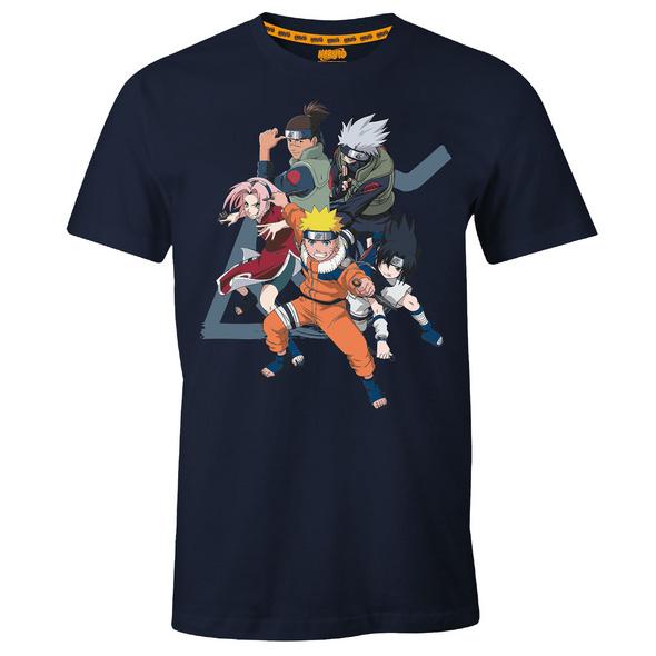 Naruto - Konoha Group T-Shirt blau