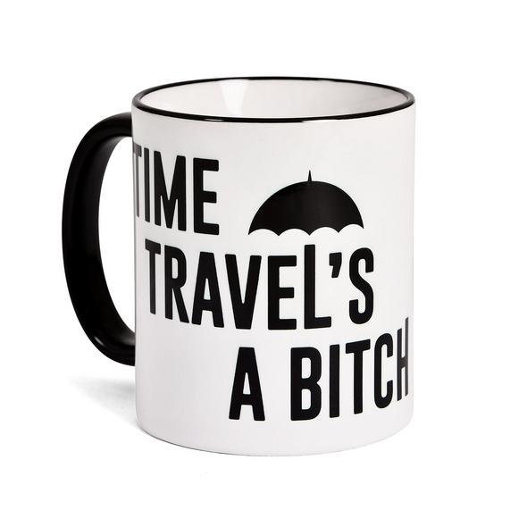 Time Travels a Bitch Tasse für The Umbrella Academy Fans
