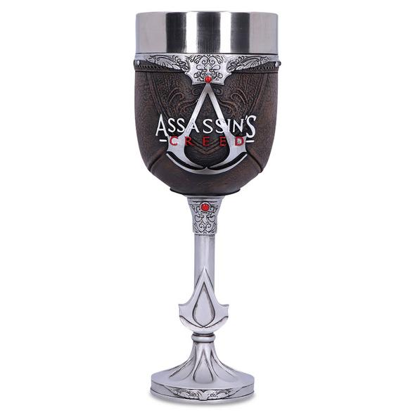 Assassins Creed - Logo Kelch deluxe braun