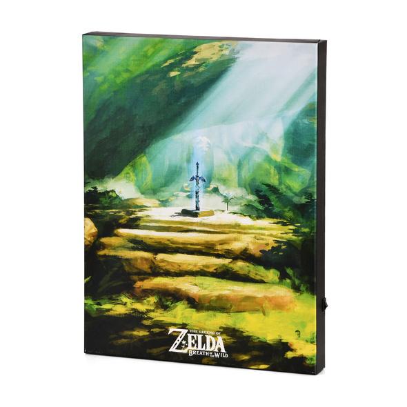 Zelda - Masterschwert Wandbild mit Licht