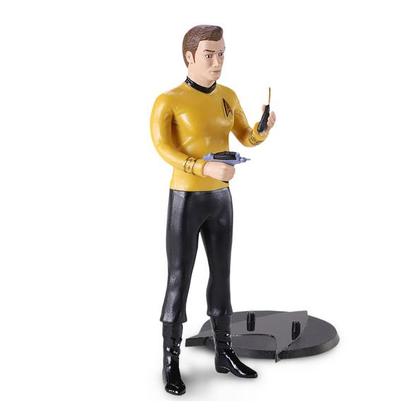Star Trek - Captain Kirk Bendyfigs Figur 19 cm