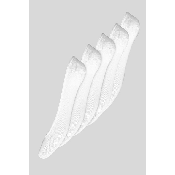 Basic-Füßlinge - 5 Paar