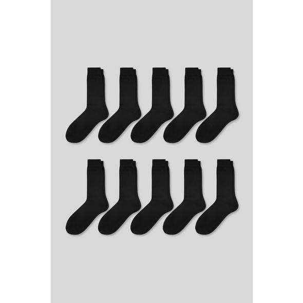 Socken - Bio-Baumwolle - 10er Pack