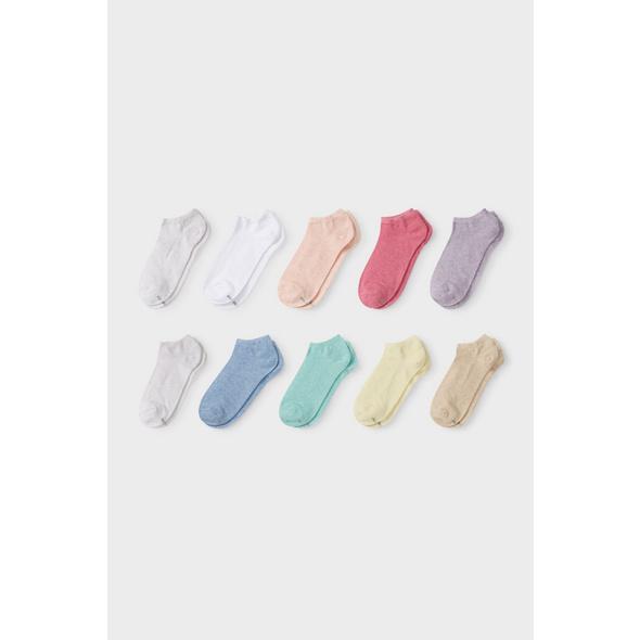 Sneakersocken - 10 Paar - recycelt
